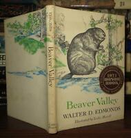 Edmonds, Walter D.  BEAVER VALLEY  1st Edition 1st Printing