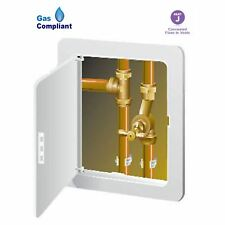 Access Panel Inspection Hatch White 155 x 235mm Gas Safe Pipes Wiring Stop Cock