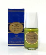 Dior Vernis A Ongles Nail Enamel Polish 409 Incredible Green