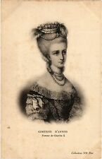 CPA Comtesse d'Artois, Femme de Charles X Royalty Nobelty (314437)