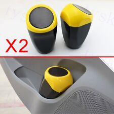 Pair Home Auto Vehicle Rubbish Mini Trash Can Garbage Dust Box Case Holder Bin