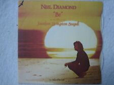 """Neil Diamond 7"""" vinyl single 'Be' (1973) with picture sleeve – excellent cond."""