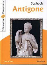 SOPHOCLE * Antigone * Théatre * classique * littérature Antiquité
