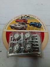 Revell Lotus Ford and BRM Slot Car Wheel Inserts & Mirrors R3505 NOS 1/24