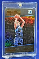 DIRK NOWITZKI PANINI STUDIO REFRACTOR RISING SP DALLAS MAVERICKS LEGENDS