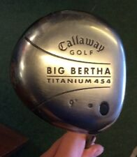 CALLAWAY BIG BERTHA 454 DRIVER 9 DEGREES ALDILA NV STIFF 85g SHAFT