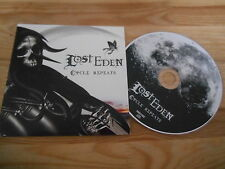 CD Metal Lost Eden-Cycle lavora di nuovo (10) canzone PROMO Candlelight/Plastic Head CB
