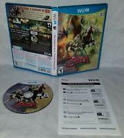 The Legend of Zelda Twilight Princess HD (Nintendo Wii U, 2016) Complete