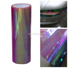 Chameleon Colorful Purple Car Headlight Fog Light Vinyl Tint Film 200x30CM New