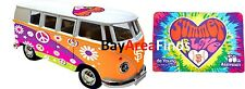 San Francisco Giants 50th Anniversary Summer of Love Bus & Blanket SGA vw van
