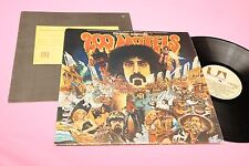 FRANK ZAPPA 2LP 200 MOTELS ORIGINALE 1971 EX GATEFOLD LAMIANTED COVER AND BOOKLE