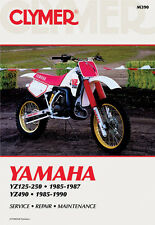 CLYMER Repair Manual for Yamaha YZ125-250 1985-1987 and YZ490 1985-1990