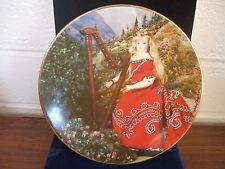 """Vintage Plate """"The Doll Collection"""" 1st Limited Edition """"Floridel"""" by M Seeley"""