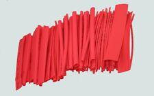 Schrumpfschlauch ROT Set 100-teilig im Beutel - je 10cm Stücke Sortiment