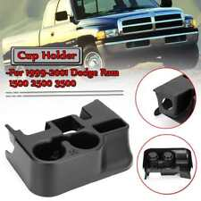NEW Cup Holder Insert Fits 99-01 Dodge Ram 1500 Black Front Center Console Liner
