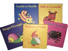 Lot de 5 Livres Drôles De Petites Bêtes Anton Krings TBE