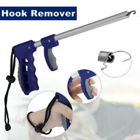 Large Easy Fish Hook Remover Puller Fishing Tool F-Handle Tackles + Strap