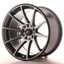 Japan Racing JR11 Alloy Wheel 18x9.5 - 5x114.3 / 5x120 - ET22 - Machined Black