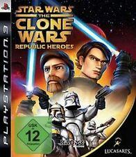 Playstation 3 Star Wars CLONE WARS REPUBLIC HEROES GuterZust.