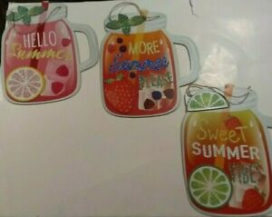 """Sweet Summer Beverage Decorative Wall Signs Choose 1 From 3 Designs 11"""" X.10"""""""