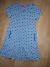 """Robe grise pois turquoises 5 ANS """"NKY"""""""