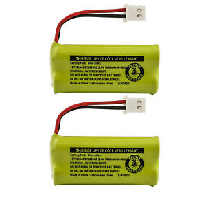 Kastar Battery BT183342 / BT283342 for Vtech AT&T Cordless Telephones (2-Pack)