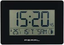 Pearl Funkuhr Tisch Funk-wanduhr mit Jumbo-uhrzeit Temperatur- &amp