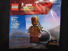 Lego Marvel Super Heroes Teen Groot Keychain Brand New