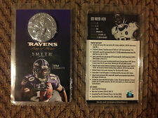 11/22/2015 Ed Reed #20 Ravens Ring of Honor Commemorative coin smyth jewelers