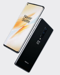 OnePlus 8 Lot Of 2 - 128GB Onyx Locked (T-Mobile)New W/out Box-Read Description!