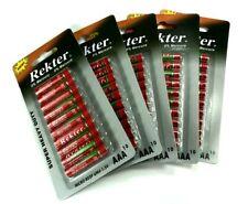50x AAA Micro Batterie Batterien R03 UM4 1,5V 50er Packung Set Battery 50 Stück