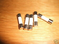 5 CERAMIC SLOW BLOW FUSES 1.6A 1.6AMP T1.6AH 20 x 5mm 250V
