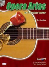 Opera Arias for Classical Guitar Guitar Sheet Music, CD Instrumental Album