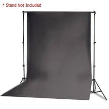 10x10 Black Muslin Backdrop Photo Studio Photography Cotton Background 10x10ft