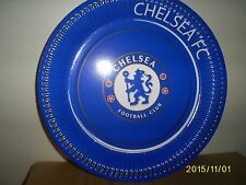 Chelsea Football Club 23cm Paper Party Plates x 8  - Official Licensed Product