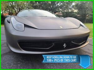 2010 Ferrari 458 ITALIA COUPE - 13K MILES - $277K NEW - BEST DEAL ON EBAY