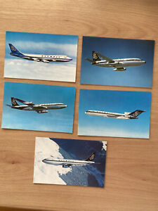 Airline/Aircraft Postcards: Olympic Airways Set of 5