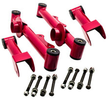 For Ford Mustang 1979 Upper Lower Rear Tubular Control Arms w/ bushing Bolt Nut