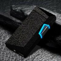WINDPROOF ELECTRIC USB LIGHTER, Rechargeable Double ARC, Flameless Plasma, GIFT