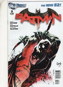 BATMAN   3  1ST PRINT  - SCOTT  SNYDER    / DC COMICS NEW 52 SERIES