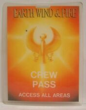 EARTH WIND & FIRE - ORIGINAL CONCERT TOUR LAMINATE BACKSTAGE PASS