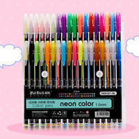 AB_ Smooth Writing Color Glitter Fluorescent Highlighter Drawing Marker Write Pe