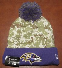 New Era NFL Baltimore Ravens Salute To Service Sport Knit (Camouflage) NEW!