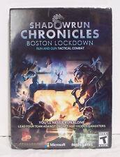 Shadowrun Chronicles Boston Lockdown Game PC Mac Linux 2015 New