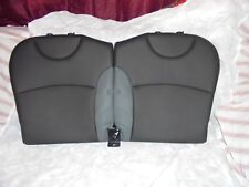 2007-2013 MINI COOPER REAR BLACK SEAT BACKREST OEM (EMAIL FOR SHIPPING QUOTE)