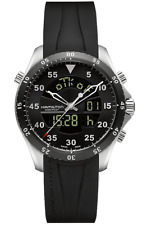 NIB Hamilton Khaki Aviation Flight Timer Digital, H64554331, MSRP:$1445, 10+ Pic