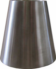 "Exhaust Cone Reducer 4"" to 2.5"" Stainless Steel"