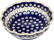 Polish Pottery Bowl 9 Inch diameter from Zaklady Boleslawiec 1279/8