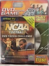 NCAA Basketball Trivia Challenge, DVD sports game, Brand New and Sealed