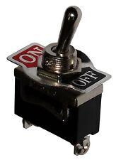 Interruptor conmutador de palanca SPST (ON)-OFF 10A/250V, 1 posición